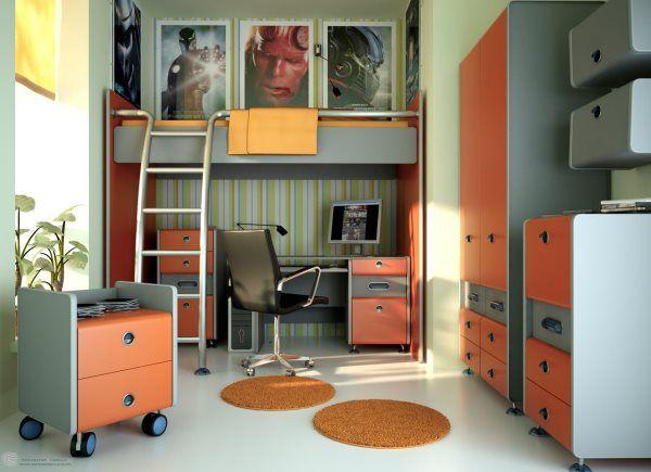 комната для подростка мальчика 12 лет фото