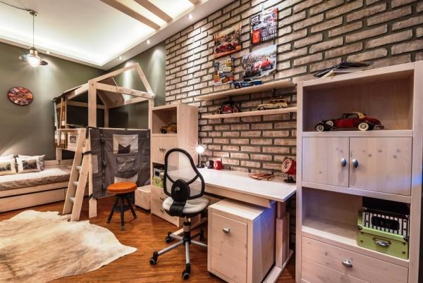 комната с фотообоями для подростка фото 2