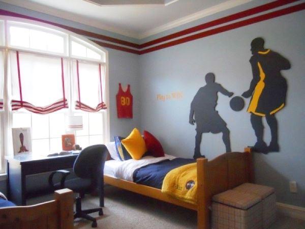 комната с фотообоями для подростка фото 7
