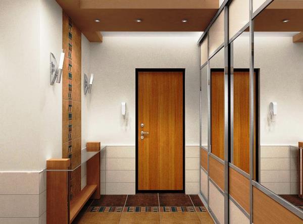 обои для маленькой прихожей и коридора фото 2