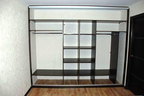 шкаф купе в коридор внутреннее наполнение фото