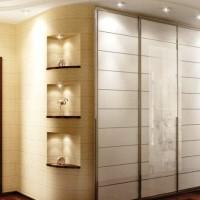 шкаф-купе в коридоре дизайн фото 13