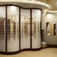 шкаф-купе в коридоре дизайн фото 3