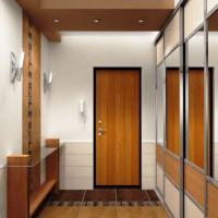шкаф-купе в коридоре дизайн фото 4