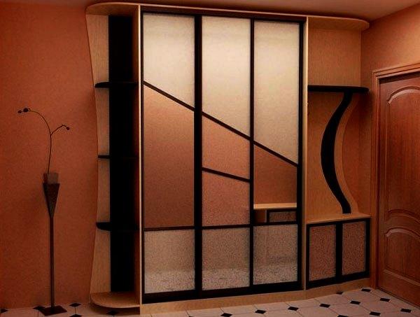 шкаф купе в маленький коридор фото