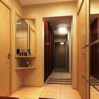 шкаф купе в узкий длинный коридор фото