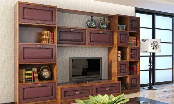 современные стенки для гостиной фото