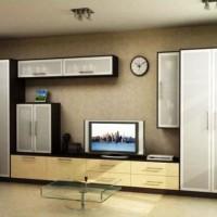 стенка в гостиную в современном стиле фото 21