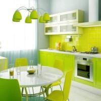цвет обоев для кухни фото 17