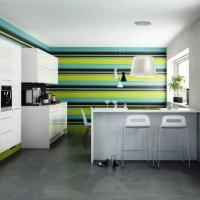 цвет обоев для кухни фото 2