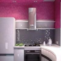 цвет обоев для кухни фото 27