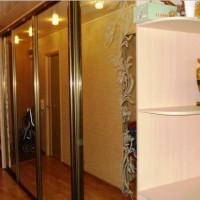 встроенный шкаф купе в коридор фото