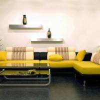 интерьеры в желтых тонах фото 18