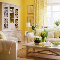 интерьеры в желтых тонах фото 26