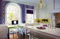 как подобрать обои на кухню по цвету фото