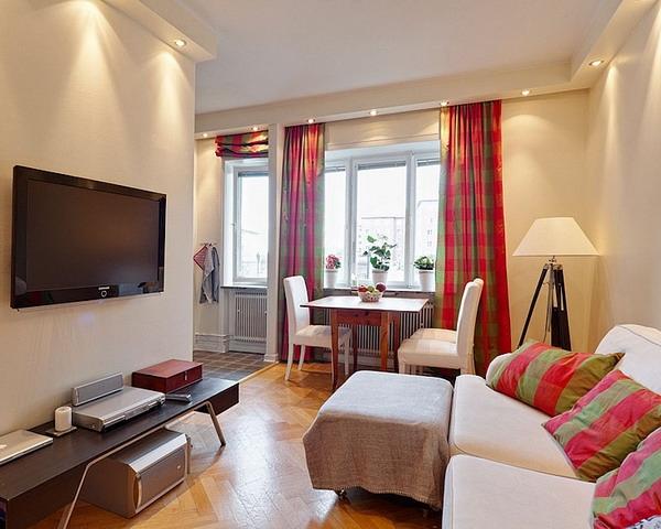 красивые квартиры фото интерьеров маленьких квартир 10