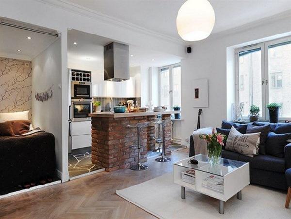 красивые квартиры фото интерьеров маленьких квартир 8