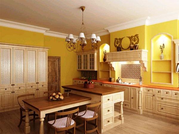 сочетание цветов с желтым в интерьере фото 11