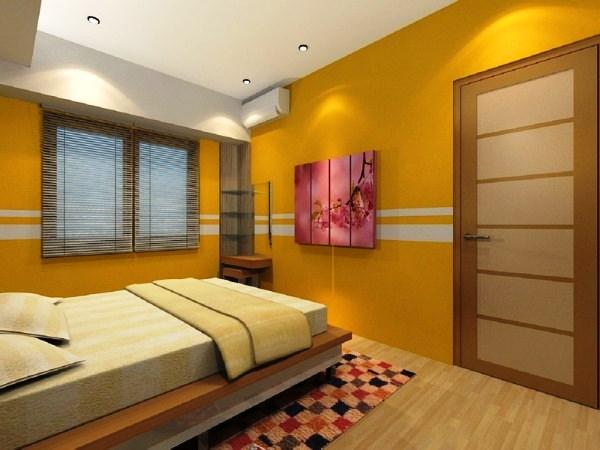 сочетание цветов с желтым в интерьере фото 4
