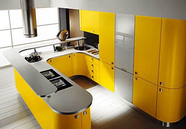 сочетание цветов с желтым в интерьере фото 6