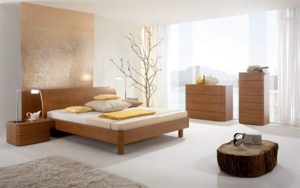 бежевая спальня дизайн фото