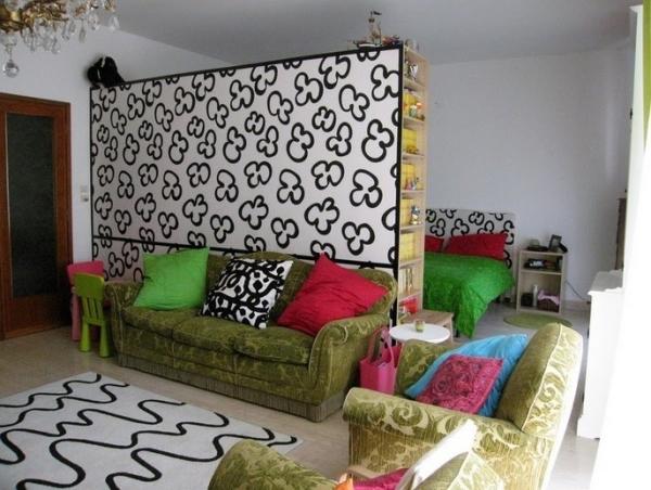 дизайн и интерьер однокомнатной квартиры фото
