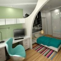 дизайн однокомнатных квартир ремонт фото 11