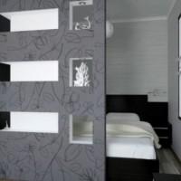 дизайн однокомнатных квартир ремонт фото 32