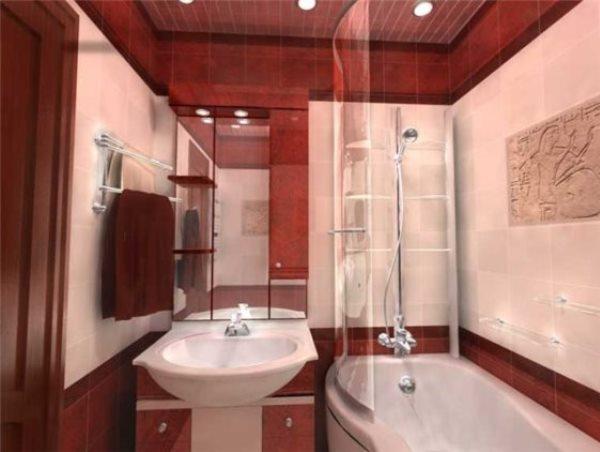 дизайн ванной комнаты маленького размера фото в хрущевке