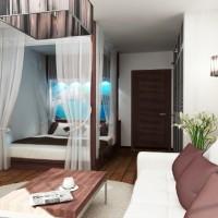 идеи для однокомнатной квартиры фото 9