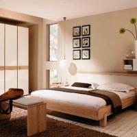 спальня в бежевых тонах фото 19