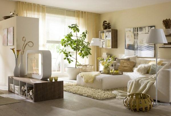 спальня в бежевых тонах фото 2