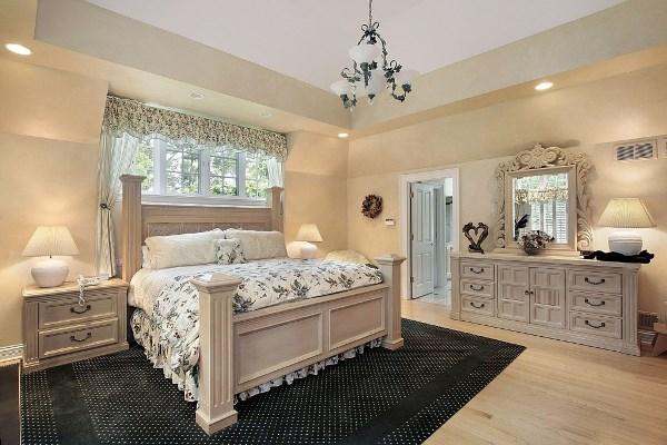 спальня в бежевых тонах фото 3