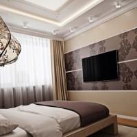 спальня в бежевых тонах фото 35