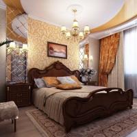 спальня в бежевых тонах фото 6