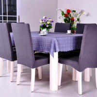 чехлы для стульев на кухню фото 13