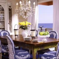 чехлы для стульев на кухню фото 24