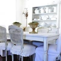 чехлы для стульев на кухню фото 31