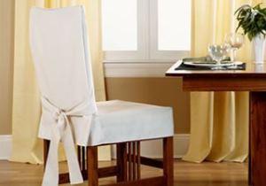 чехлы для стульев на кухню фото