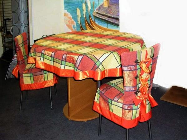чехлы на кухонные стулья со спинкой фото 11