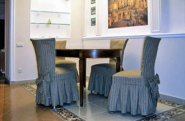 чехлы на кухонные стулья со спинкой фото 5