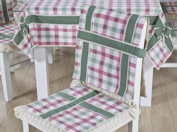 чехлы на кухонные стулья со спинкой фото 8