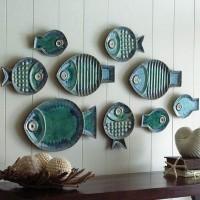 декоративные настенные тарелки фото 14