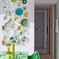 декоративные настенные тарелки фото 15