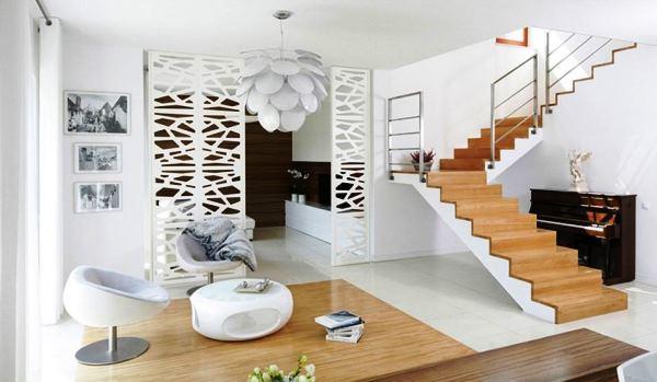 дизайн гостиной в белом цвете фото