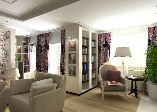 дизайн гостиной в стиле арт деко фото 3