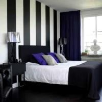 дизайн комнаты в черно белых тонах фото 14