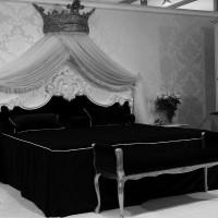 дизайн комнаты в черно белых тонах фото 25