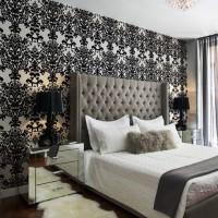 дизайн комнаты в черно белых тонах фото 31