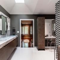 дизайн комнаты в черно белых тонах фото 33